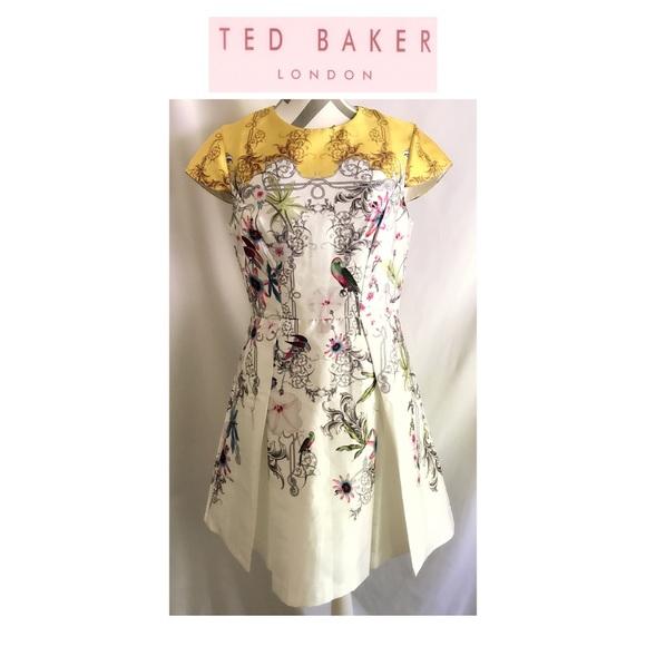 Ted Baker London Dresses & Skirts - NWT TED BAKER Passion Flower Cap Sleeve Dress